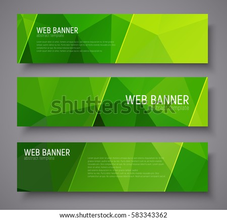 Green stock images royalty free images vectors - Text banner design ...