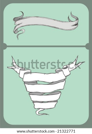 banner kingdom - stock vector