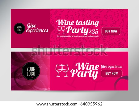 Event Ticket Template Stock Vectors, Images & Vector Art