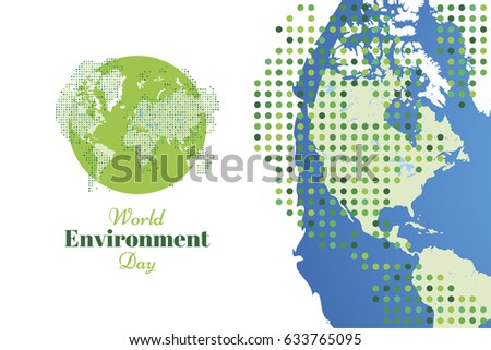 Banner world environment day world map stock vector 633765095 banner world environment day with world map flat vector illustration eps 10 gumiabroncs Image collections