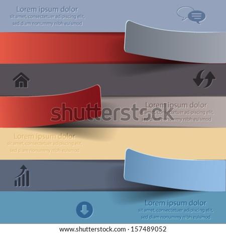 Banners. Vector eps10. - stock vector