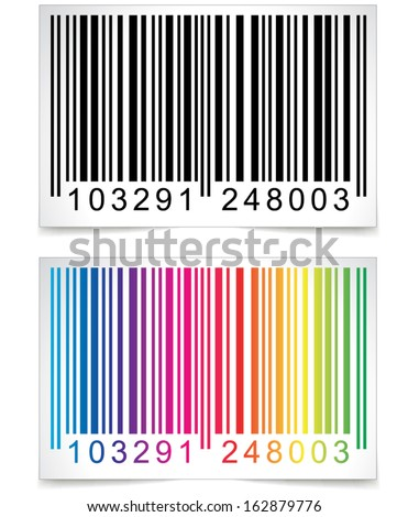 Bar code - stock vector