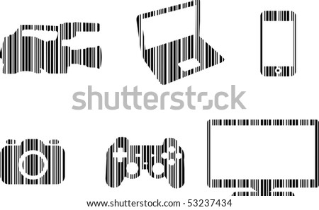 Bar code Home Electronics Set
