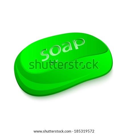 Bar of Soap  - stock vector