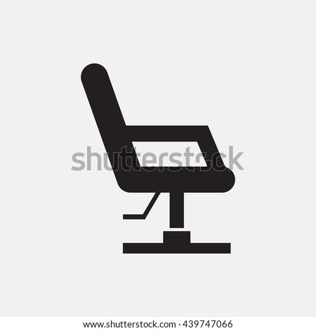 Chair icon barber chair icon eps barber chair icon vector barber chair