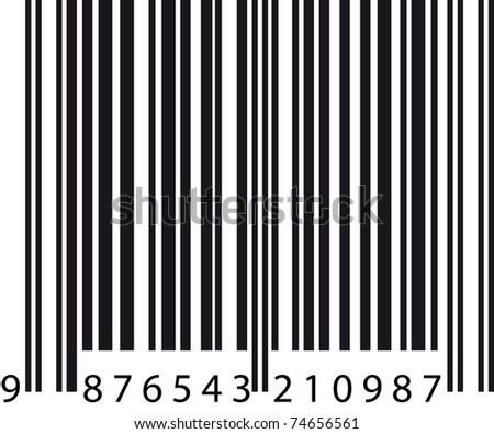 Barcode - stock vector