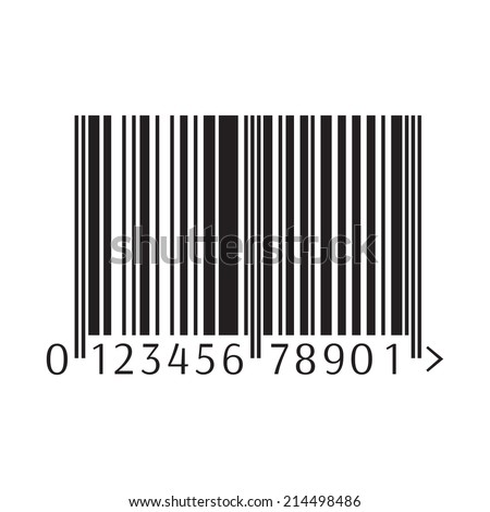 Barcode. Vector illustration - stock vector