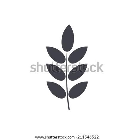 barley icon , vector illustration - stock vector