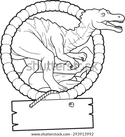 Baryonyx stock photos images pictures shutterstock for Baryonyx coloring pages