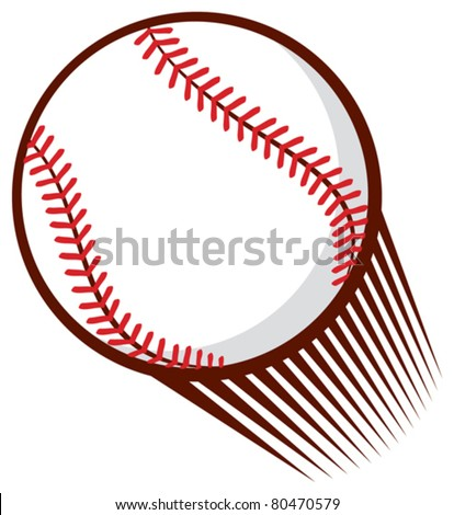 baseball ball - stock vector