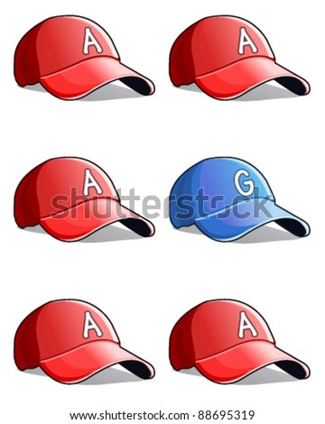 Baseball Cap - stock vector