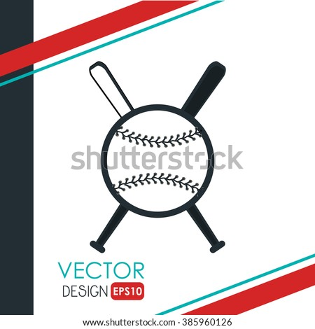 baseball icon design