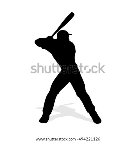 baseball player silhouette stock images, royalty-free images