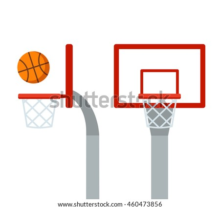 how to draw a basketball court with hoops