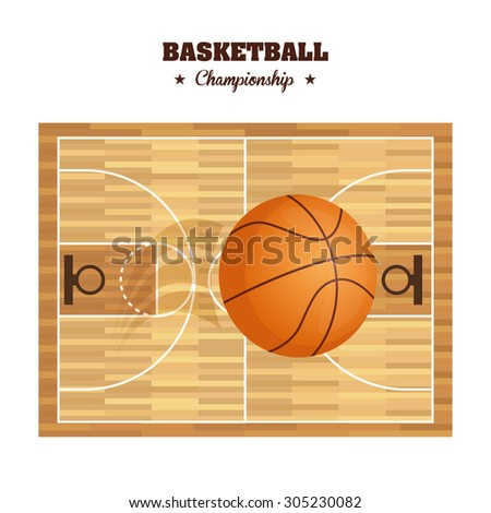 Basketball sport design, vector illustration eps 10.