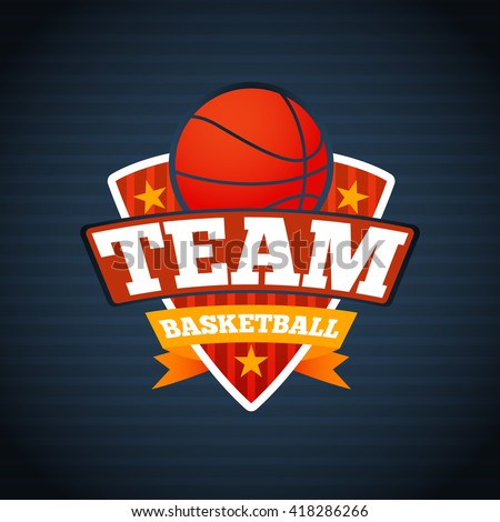 basketball emblem stock images royalty free images vectors shutterstock. Black Bedroom Furniture Sets. Home Design Ideas