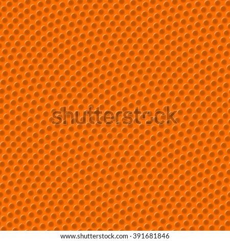 Basketball texture with bumps seamless vector illustration - stock vector