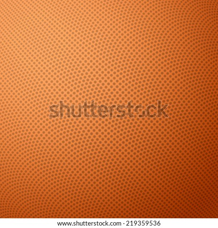 Basketball texture with bumps. Vector illustration. - stock vector