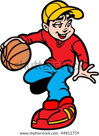 basketball vector - stock vector