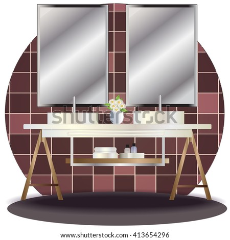 Jenjira S Interior Furniture Elevation Set On Shutterstock