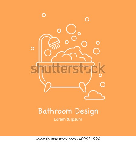 Collection elegant soap labels vector templates stock for Bathroom interior design services