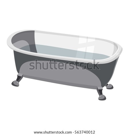 bathtub icon cartoon of bathtub vector icon for web design
