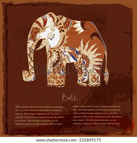 Indian Elephant Art Print Elephant Art Indian Artwork Boho