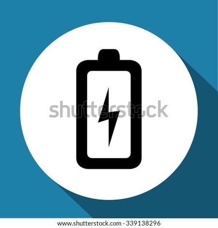 Battery Icon Vector illustration - stock vector