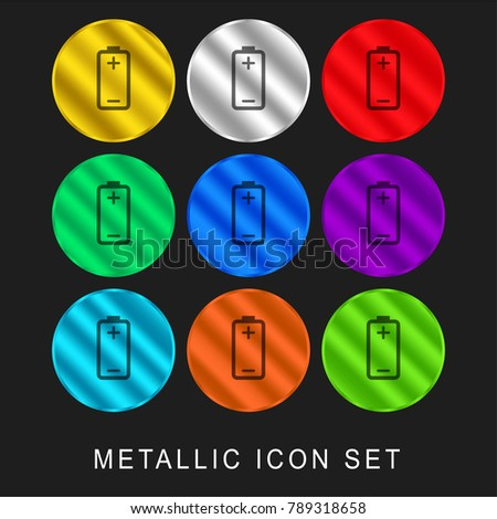 Battery Plus Minus Signs Positive Negative Stock Vector 789318658 ...