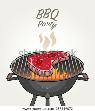 Raw Steak Stock Vectors & Vector Clip Art | Shutterstock
