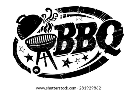 Drawn vector illustration of an chef pig making bbq stock vector - Bbq Photos Et Images De Stock Shutterstock