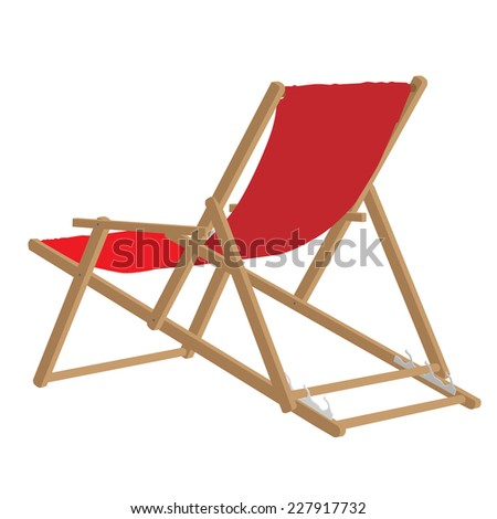 Stock Images similar to ID 74993059 - beach chair vector