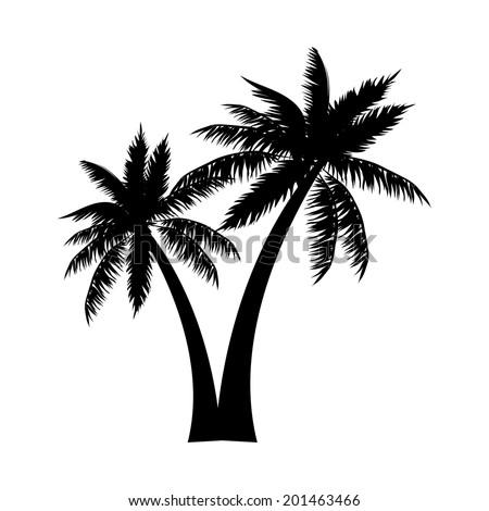 beach design over white background vector illustration - stock vector