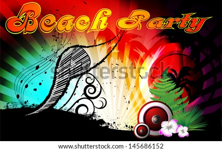 beach Party, background
