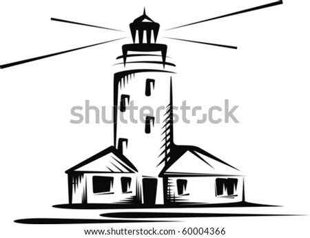beacon - stock vector