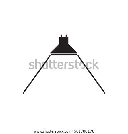 Beam Angle Icon Led Light Vector Stock-Vektorgrafik 501780178 ...