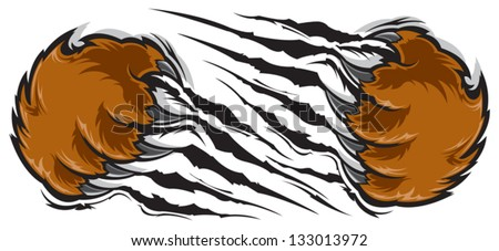 slipfloat s portfolio on shutterstock Bear Claws Ripping Through Grizzly Bear Claws