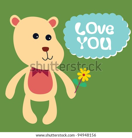 bear with love message 3
