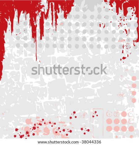 beautiful abstract vector grunge background