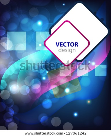Beautiful background with many brightness. Fantastic vector design.