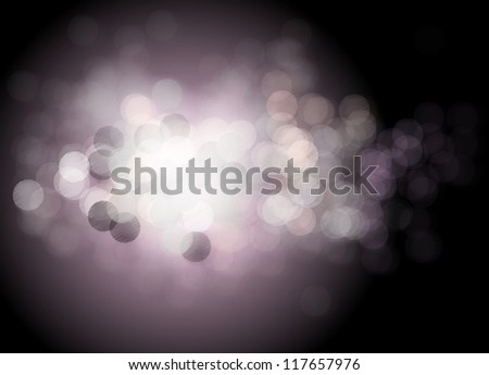Beautiful background with many lights. Vector - stock vector