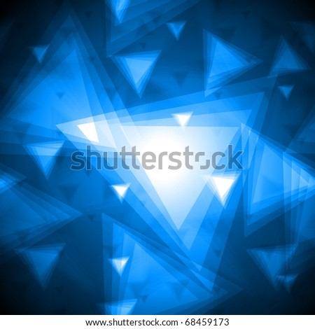 Beautiful background with triangles texture. Seamless illustration - stock vector
