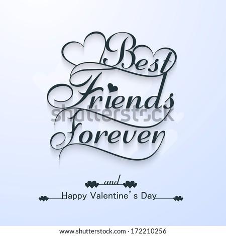 Best Friends Forever Valentine 39 s