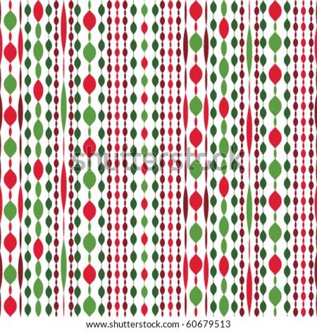 beautiful Christmas seamless vector pattern - stock vector