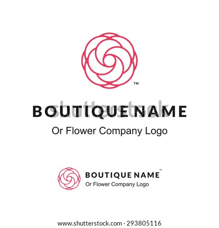 Beauty logo stock images royalty free images vectors for Hair salon companies