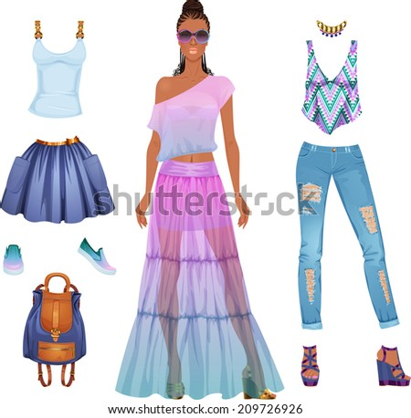 paper doll cutouts stock images royalty free images vectors shutterstock. Black Bedroom Furniture Sets. Home Design Ideas