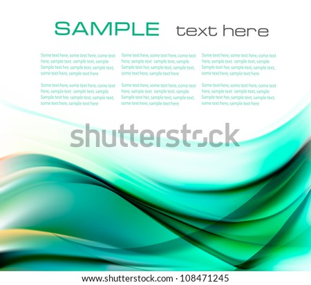 Beautiful elegant abstract background illustration. Vector