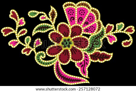 Beautiful full color Vector of art. - stock vector