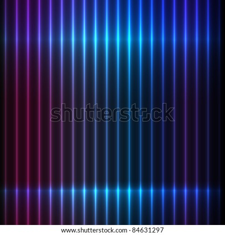 Beautiful glossy background - stock vector