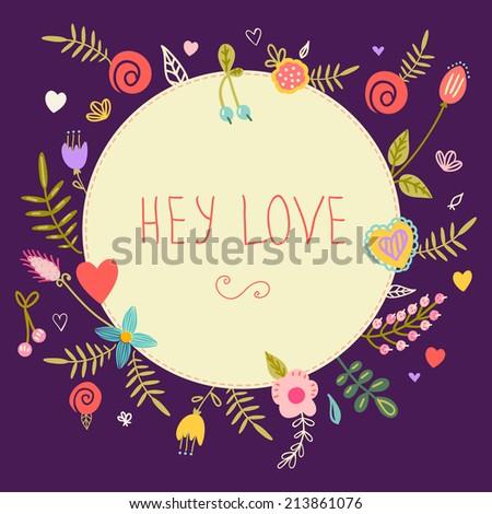 stunning easter card cute rabbit butterfly stock vector